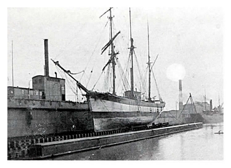 "1910 – ""The Baltzig of Riga"" the first ship on the Penarth pontoon – or was it?"