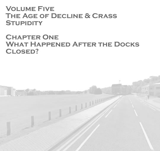 Penarth Dock - Volume Five - The Age of Decline & Crass Stupidity - What happened after the docks closed? . . .