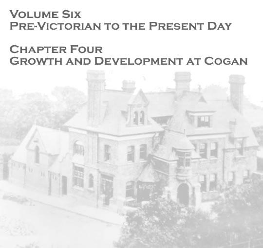 Penarth Dock - Volume Six - Pre-Victorian to the Present Day - Select Aspects - Growth and development at Cogan . .