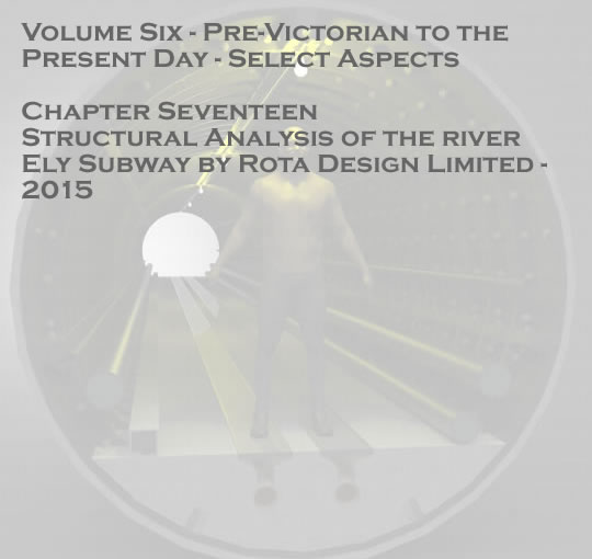Penarth dock - Structural Analysis of the river Ely Subway by Rota Design Limited - 2015