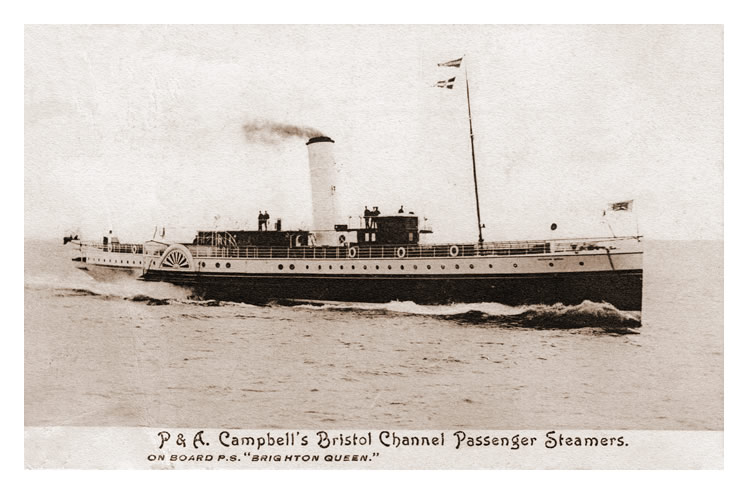 P. & A. Campbell's Bristol Channel Passenger Steamers - on board P.S. 'Brighton Queen'