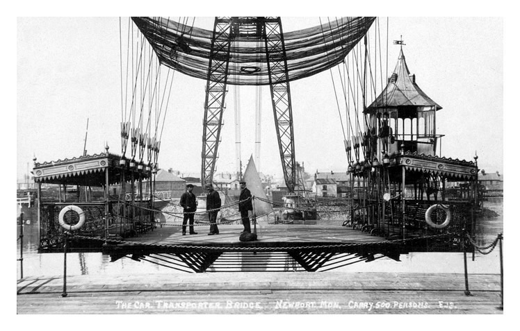 The Newport Transporter Bridge