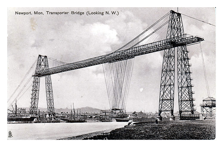 transporter bridge, newport, mon.