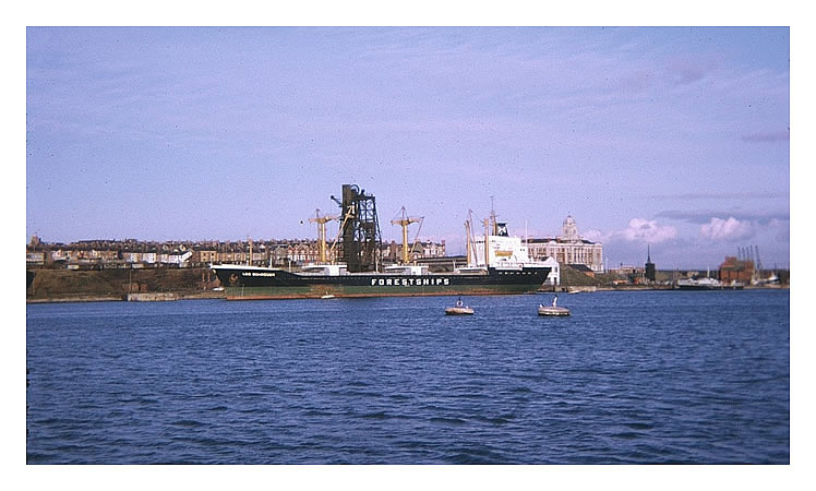 'Leo Schroder' of Forest Ships at Barry Dock 1974