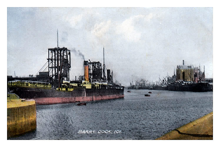 Barry Dock - number 2 dock -1908