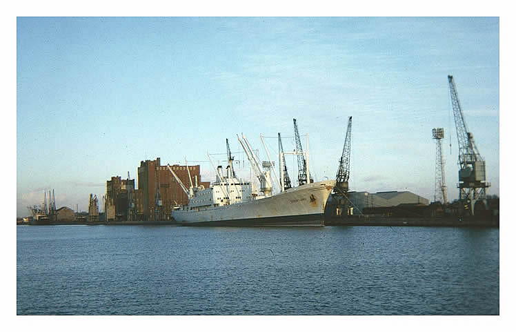 'Geestland' at Barry Dock 1974